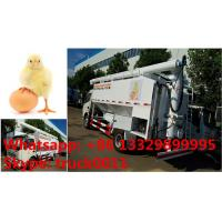 Wholesale customized 11m3 hydraulic chicken feed pellet transported truck for Philippines, bottom price dongfeng 11m3 feed truck from china suppliers