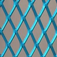 Wholesale Blue pvc coating expanded metal mesh for decoration , 0.5mm - 8mm thickness from china suppliers