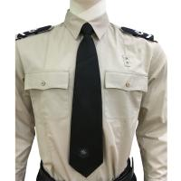 Wholesale Long Sleeve Custom Security Shirts For Men , 65% Polyester 35% Cotton Materials from china suppliers
