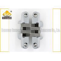 Wholesale Meta Zinc Alloy 180 Degree Soss Invisible Entry Door Hinges Hardware from china suppliers