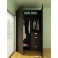 Wholesale E0 Standard Wardrobe Storage Cabinet With Wood / Bamboo / MDF from china suppliers