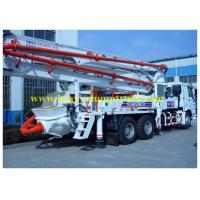 Wholesale 37m Boom mounted concrete pump truck SYG5260THB  SY5260THB 37B from china suppliers