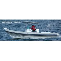Double Bottom Offshore Inflatable Boats With Motor Fast Response Rough Weather