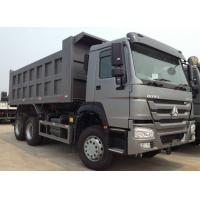 Quality HW76 Lengthened Cab Howo Tipper Dump Truck / Trailer 21 - 30 Ton Loading Capacity for sale