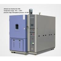 Wholesale Low Voltage High Altitude Test Chamber / Environmental Test Chamber For Aerospace from china suppliers