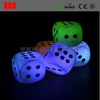 Wholesale Playing Game Glowing Dice For KTW Bar Events from china suppliers