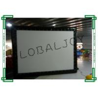 Wholesale PVC Tarpaulin Inflatable Cinema Screen Small 16m x 9m Customized from china suppliers