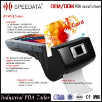 Wholesale 4G Handheld Smart Card Reader , PDA Wireless Rfid Reader in Magnetic MSR Card from china suppliers