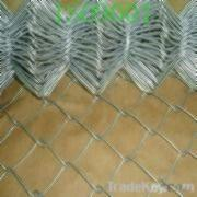 Wholesale Chain Link Fence With Diamond Wire Mesh, Available In Various Surface from china suppliers