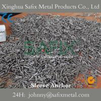 Quality Sleeve Anchor with Hex Nut/ Anchor Bolt/ Stainless Steel 304(A2) 316L(A4) Stone Cladding for sale