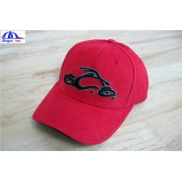 Wholesale Cool Custom Racing Baseball Caps , Embroidery Custom Fitted Caps For Youth from china suppliers