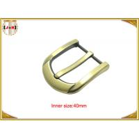 Wholesale 40mm Customized Fashion Gold Zinc Alloy Pin Belt Buckle Manufacturers from china suppliers