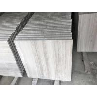Wholesale Modern Marble Bathroom Floor Tile , Wood Grain Natural Stone Shower Tile from china suppliers