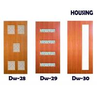 Wholesale Crash-resistant Timber Composite Doors With Lock , Handle , Hinges from china suppliers
