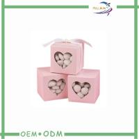 Wholesale Rectangle Pink Decorative Candy Gift Boxes Luxury Custom Candy Boxes from china suppliers
