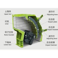 Quality Construction waste recycling Crawler - type Mobile impact crusher Plant ER-250IS for sale
