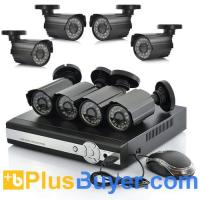 Wholesale 8 Channel DVR Surveillance System - PAL (8 CCTV Cameras, H.264, Network) from china suppliers