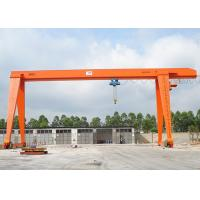 Wholesale 100 Ton A Frame Single Beam Gantry Crane With Strong Winch For Warehouse / Railway from china suppliers