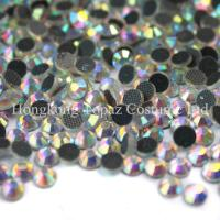 Wholesale ab effect clear ab crystal ab hot-fix crystal stone for garment accessories from china suppliers