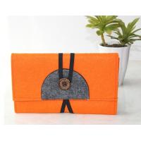 Wholesale Top quality factory price handmade nonwoven felt fabric purse manufacturer from china suppliers