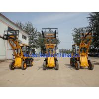 Wholesale small loader/front end loader/CE wheel loaders with bucket capacity:0.6t/0.3cbm from china suppliers