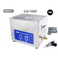 Wholesale Limplus Bicycle Chain Injector Table Top Ultrasonic Cleaner With Heater , 10 Liter Digital Ultrasonic Cleaner 200w from china suppliers