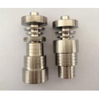 Wholesale 6 in 1 Universal Titanium Domeless Nail Grade 2 10/14/18mm/M/F from china suppliers