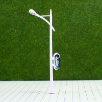Wholesale RC100  6V Billboard Street Plastic Miniature Scale Model Lamppost for Train Layout 10cm from china suppliers