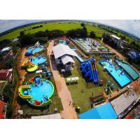 Wholesale Thailand Project Inflatable Land Park With Slide , Inflatable Amusement Park from china suppliers