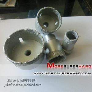 Wholesale Vacuum brazed diamond core drill bits,Vacuum brazed diamond tools from china suppliers