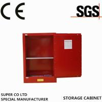 Wholesale Red Combustible Liquids Chemical Storage Cabinet with 4gallon from china suppliers
