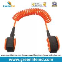 Wholesale Hot Selling Transparent Orange 1.5M Spring Coiled Baby Toddler Anti-lost Harness from china suppliers