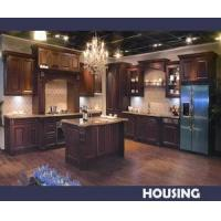 Wholesale Solid Wood Kitchen Cabinet (HK-W04) from china suppliers