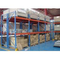 Wholesale Multi Level Metal Warehouse Shelving , Cold Rolled Steel Storage Rack Systems from china suppliers