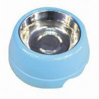 Wholesale Stainless steel pet bowl for dogs from china suppliers