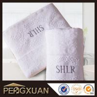 Quality Hotel white hand towels 21s/2 embroidery and jacquard towels for sale with 100% cotton PXFT1 for sale