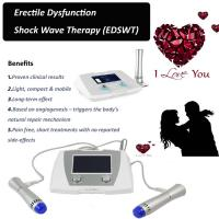 Wholesale ED 1000 Erectile Dysfunction Low Intensity Shockwave Therapy Machine from china suppliers