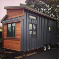 Buy cheap Luxury Light Gauge Cider Box Prefabricated Tiny House With American Standard from wholesalers