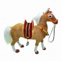 Wholesale Handmade furry animal for horses collectors or kids who love to play with donkeys and horses from china suppliers