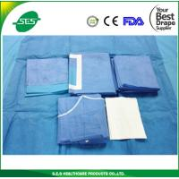 Wholesale Hot sale Disposable Surgical Drape Laparotomy Pack from china suppliers