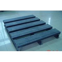 Wholesale Environment Friendly Wood Plastic Composite Pallet Dark Grey and Single Faced from china suppliers