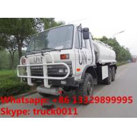 Wholesale Factory sale Bottom price dongfeng 6x6 fuel truck tanker for sale, HOT SALE! UN customized dongfeng 6*6 LHD fuel dispens from china suppliers