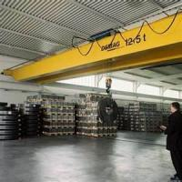 Wholesale 5 - 20 ton 26m Double Girder Overhead Traveling Crane With Grab Lifting Equipment from china suppliers
