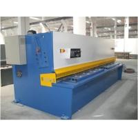 Wholesale Plate Sheet Metal CNC Swing Hydraulic Shearing Machines Bosch-Rexroth / Siemens Motor from china suppliers