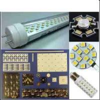 Wholesale Teflon , Rogers LED single side PCB printed circuit boards 3 mil , Carbon , Peelable Mask from china suppliers