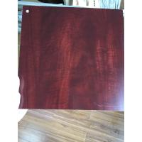Quality PVC Faux Wood Laminate Sheets Low Carbon Glossy Printing 1220×2440 mm for sale