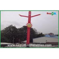 Wholesale Commercial Red 6m Inflatable Tube Man With Logo Printing Oxford nylon from china suppliers
