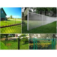 Quality Durable Iron Wire Boundary Wall chain link fencing For Leisure Sports Field / School Chain for sale