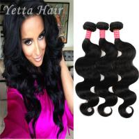 Wholesale Natural Color 6A Virgin Hair Indian Body Wave Hair Extensions Large Stock from china suppliers
