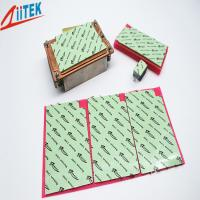 Wholesale 2.0 W/mK Ultrasoft CPU Heatsink Pad , Green Thermal Silicone Pads TIF100-20-07E thermal gap filler 45 Shore 00 from china suppliers